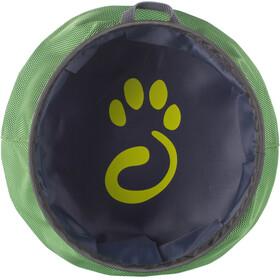 Mountain Paws Bol à eau - Article pour animaux - L pliable gris/vert
